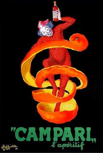 My favourite Campari poster by Leonetto Cappiello