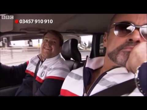 Here's George Michael In The First Ever Carpool Karaoke Video(❤️him so much)