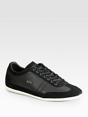 Lacoste Leather Dress Sneakers