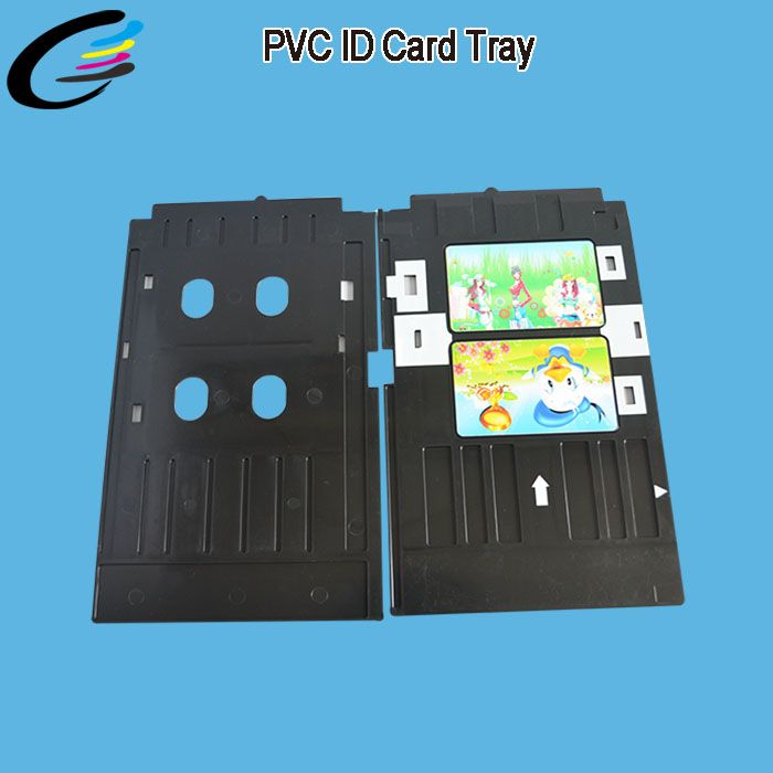 Inkjet Pvc Id Card Printer Tray For Epson L800 L805 L810 L850 L801 R390 R290 T50 T60 Pvc Tray Card Printer Printers Tray Cards