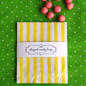 candy bags: Party Craft Supplies, Colorful Candy, Shower, Paper Crafts, Party Ideas