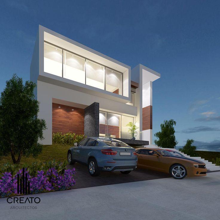 Casa en bugambilias creato arquitectos pinterest - Casas de arquitectos ...