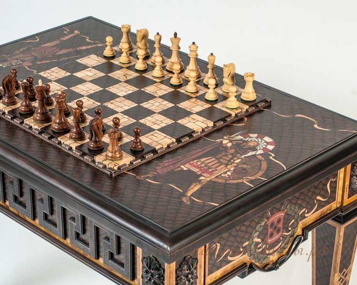 Шахматный стол «Спартак» (шахматы)  Размер по столешнице 710*1040 мм. Высота 760 мм.