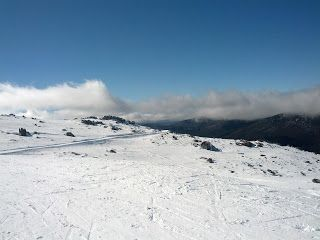 The Travelling Lindfields: Ride - Skiing, not cycling  Where- Thredbo Villag...
