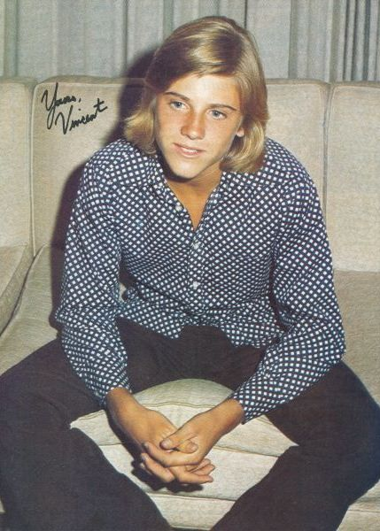 """The reason I watched """"Apple's Way"""" was for Heart throb, Vincent Van Patten!"""