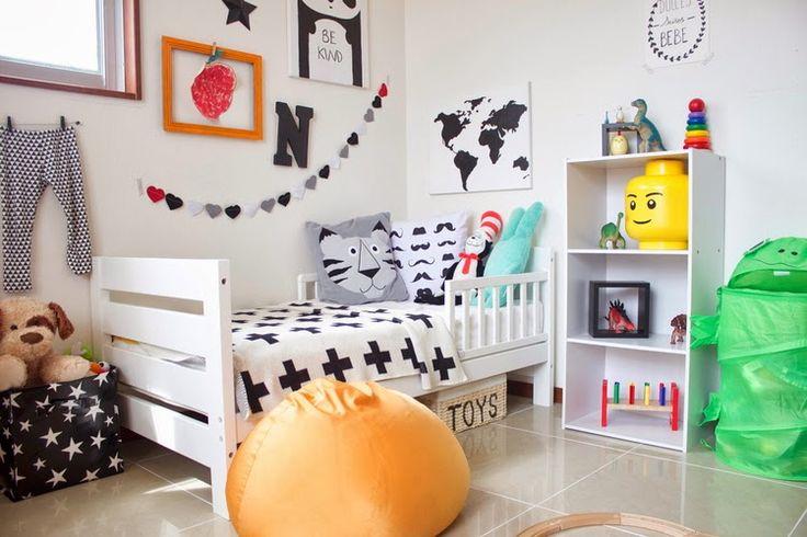 Super dzieciaczki: Skandynawski pokój dla chłopca