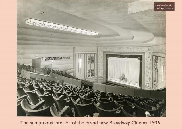 The interior of the Broadway Cinema
