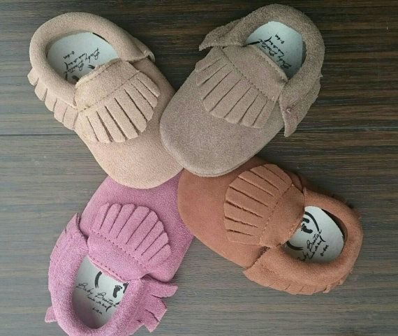 Hey, I found this really awesome Etsy listing at https://www.etsy.com/ca/listing/263042638/baby-suede-leather-moccasins-baby-soft