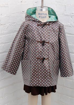 new fall patterns: school days jacket, raincoat version – Oliver + S