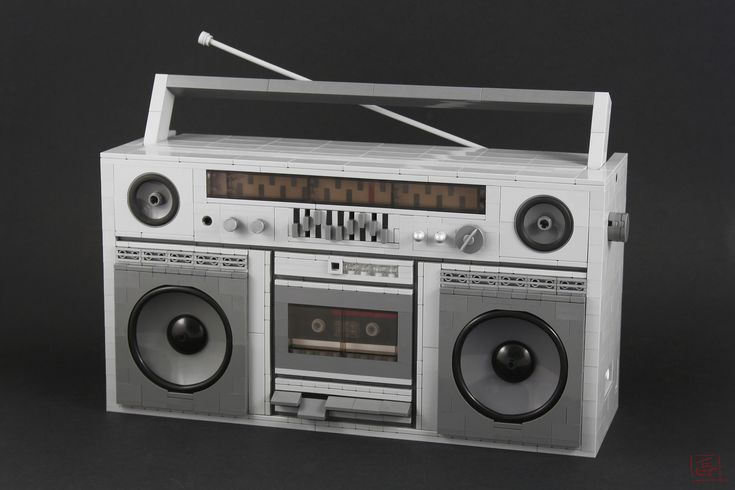 https://flic.kr/p/QvXUSB   Ghetto Blaster   Hello everyone!  It has been a year since I last posted something and I am sorry but life has been really rough on me so I didn't have the time or the will to build.  Anywho! Here is my version of a classic Ghetto Blaster from the 80's, hope you'll like it :D Cheers!  My website: JBF Creations Follow me on  Facebook