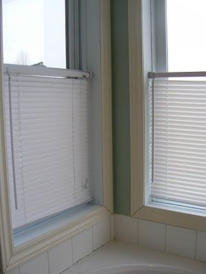 The Complete Guide to Imperfect Homemaking: Cleaning Mini Blinds - sadly I needed this yesterday and also needed the bathtub to soak them in :-(  Took me an hour, not ten minutes but I would not trade my shower in for the world.