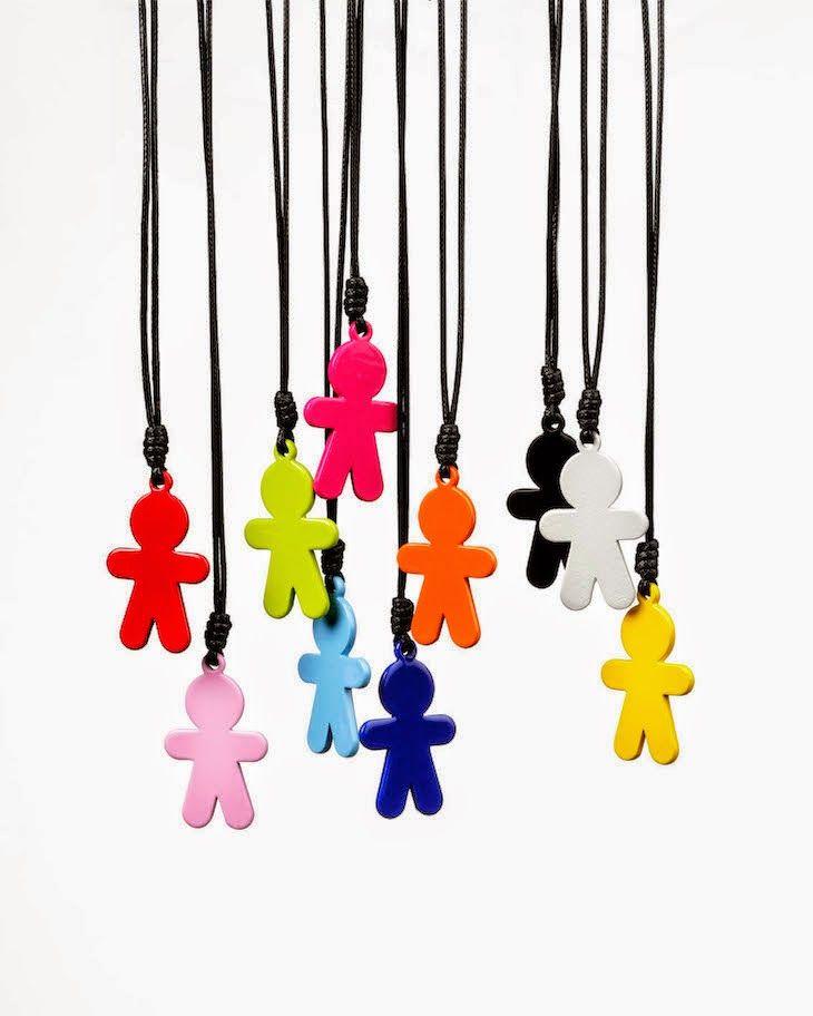#colorful #colors #trend #knit #necklace #fashion #bijoux