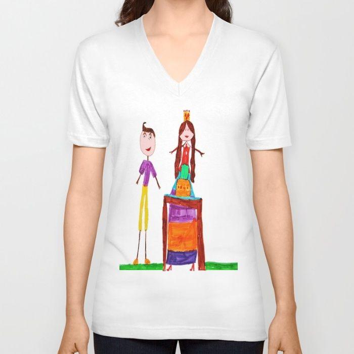Anniversary V-neck T-shirt