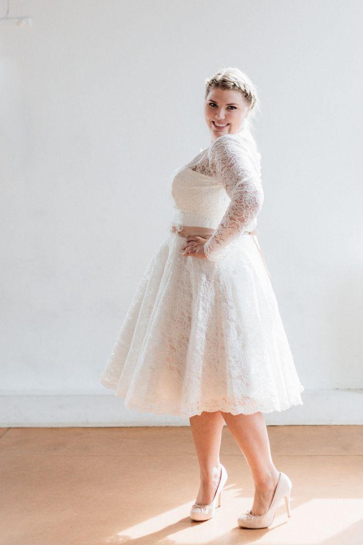 Brautkleider Größe 48 50 52 Betty | Hochzeitskleider ...