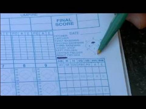How to Keep Score in Baseball: How to Number Baseball Positions