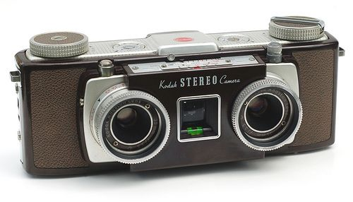 Kodak Stereo Camera, in 1954