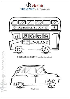 Angleterre / Londres: bricolages, coloriages pour enfant | VOYAGES ET ENFANTS |Blog
