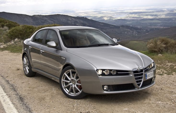 Alfa Romeo 159.  I consider this one of the best looking sedans ever made, second only to the BMW e39 5-series.