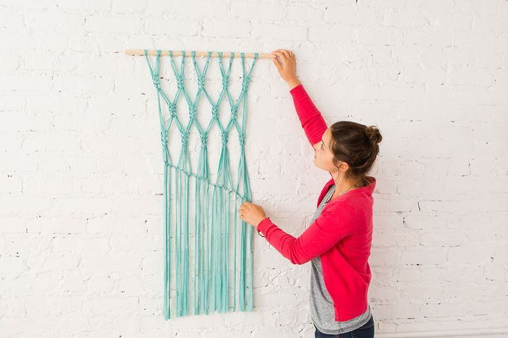 Macra-make a Gorgeous Macrame Wall Hanging via Brit + Co.