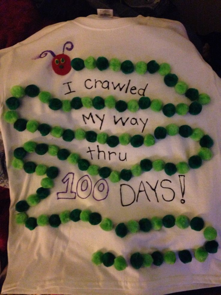 100th day of school idea.  Do fingerprints instead of pom poms to save money.
