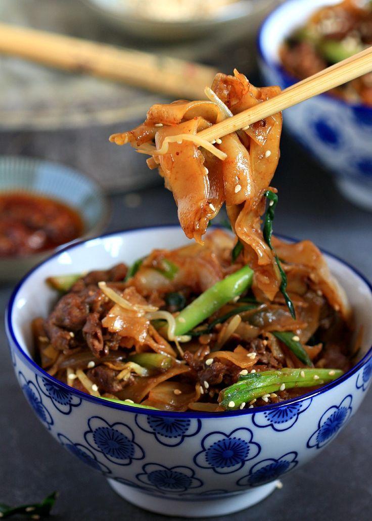 beef ho fun / gon chow ngau ho  asian recipes asian
