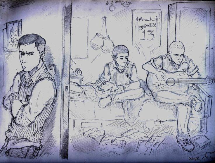 Jealousy by MangaKataRockOn on DeviantArt   Gary Smith, Jimmy, Petey, Canis Canem Edit, Bully