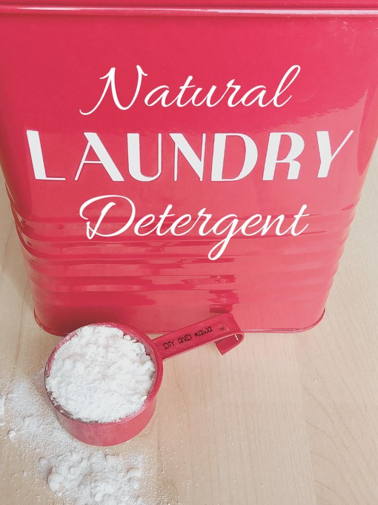 Homemade Natural Laundry Detergent Natural Laundry Detergent