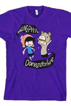 Phil & Dan (Purple). WANT. This in like  a super large size would be awesome.