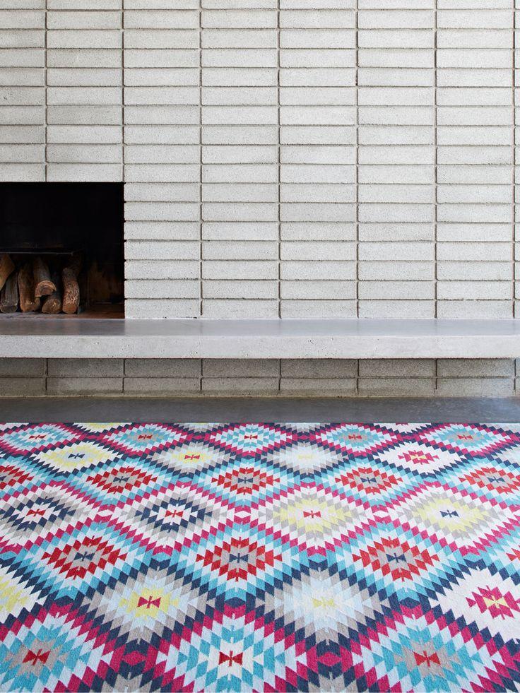 Kilim Weave – Caravan by Armadillo and Co | handmade fair trade rugs