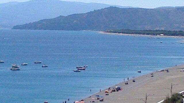 Sea landscape of Catanzaro Lido