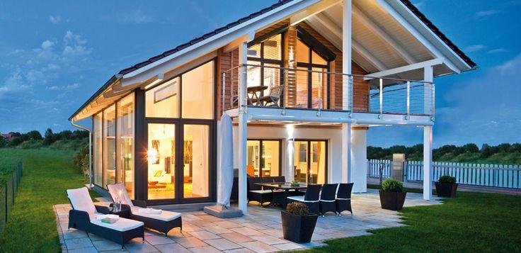 Hausbau im Landhaustil - 5 perfekte Eindrücke vom Regnauer Vitalhaus   Fertighaus, Fertighäuser und Holzhäuser