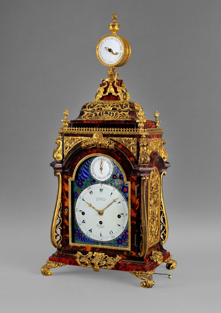 HENRY BORRELL A magnificent musical clock made specifically for the Ottoman Market