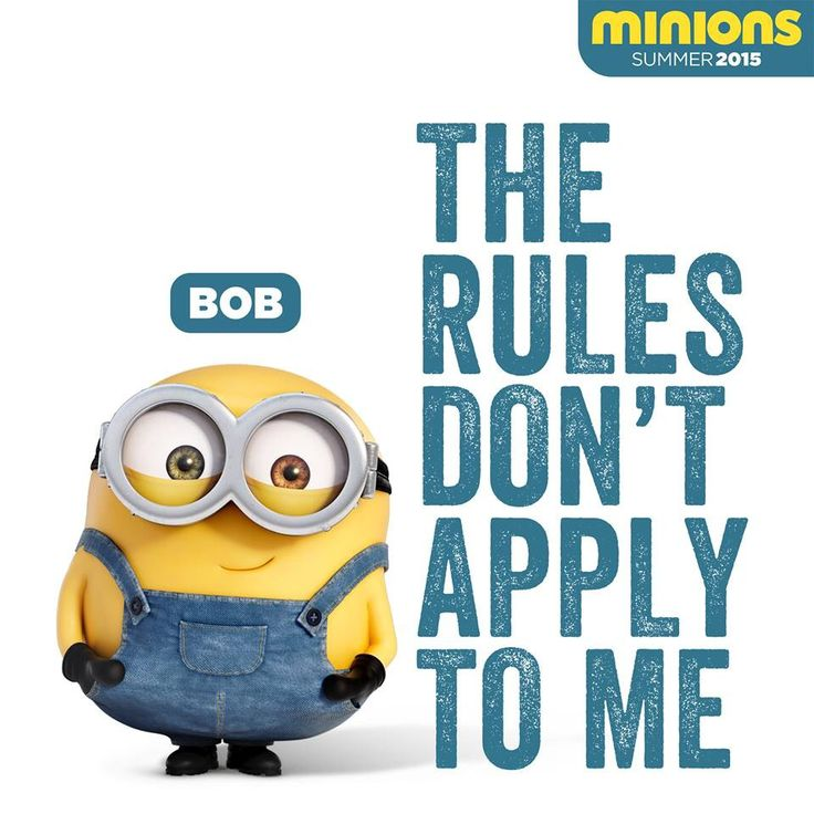 #minions #bob #rules | Minions Movie | In Theaters July 10th