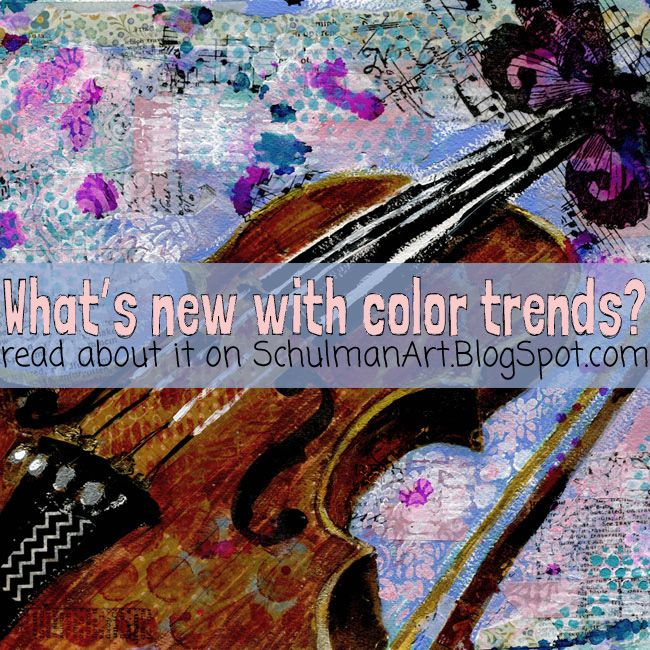Art Blog For Creative Living Whats New With Color Trends 2016