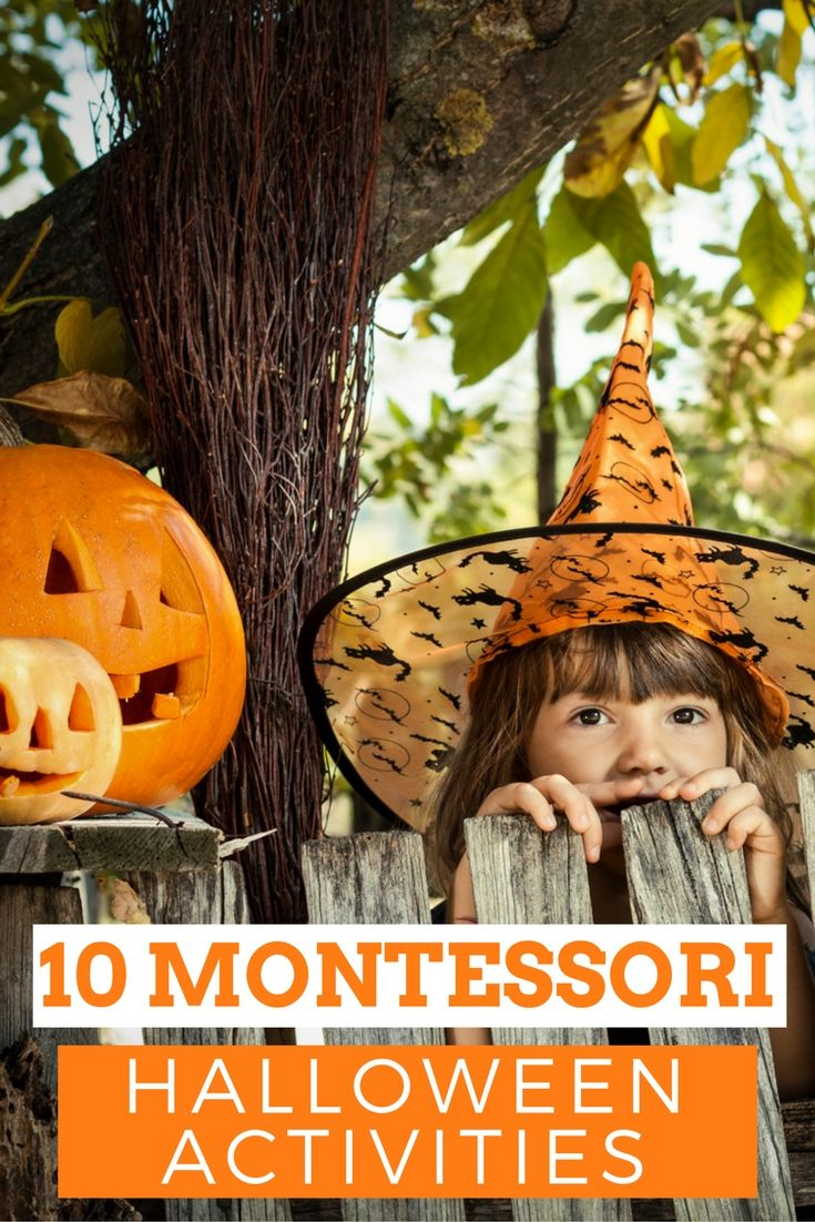 Learn 10 surefire awesome Halloween Montessori activities for your home & classroom. Engage kids with these fun activities. Brilliant…