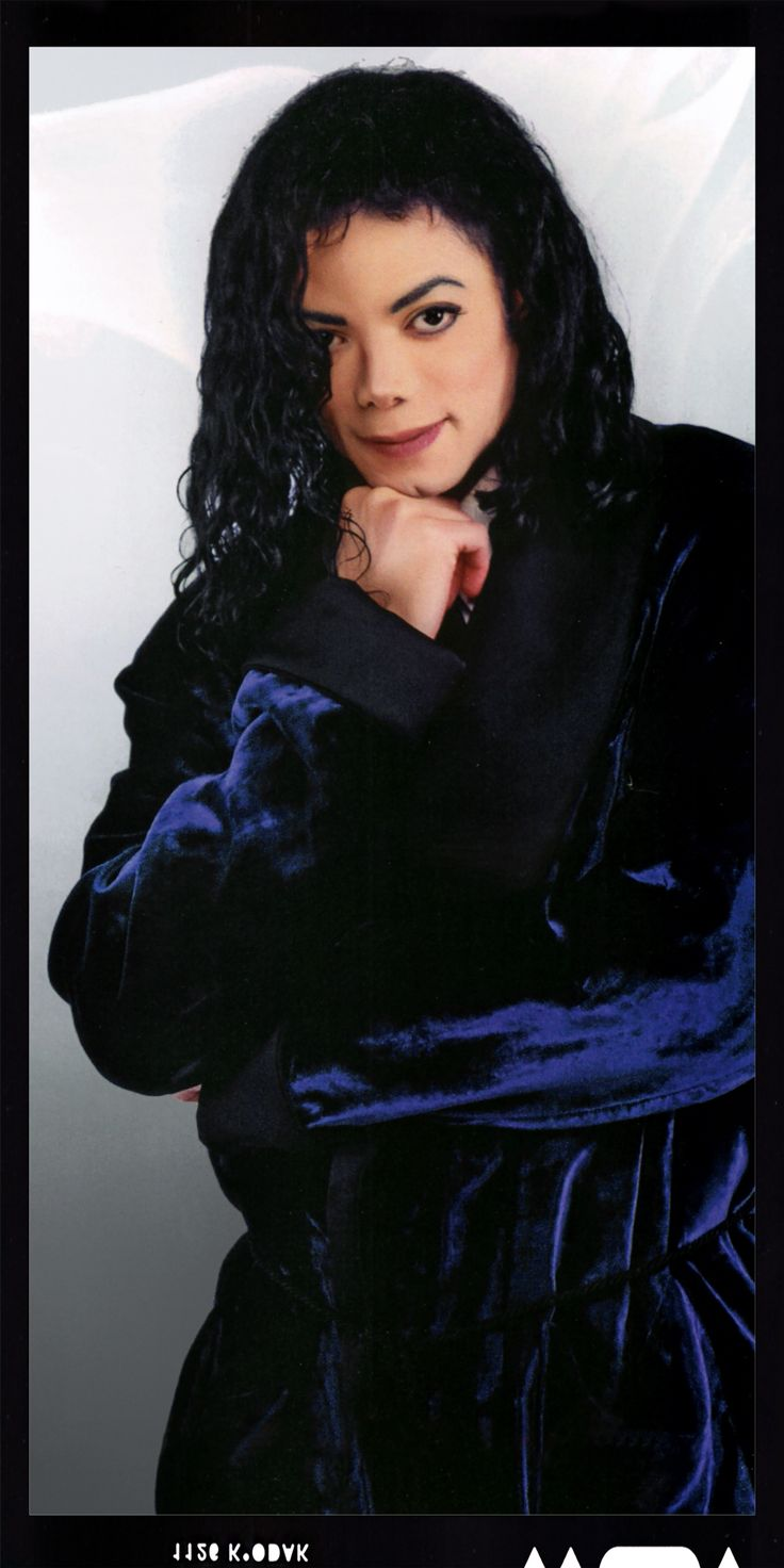 MJ Vibe 1995 photo shoot...JUST BEFORE THE GREAT NASAL COLLAPSE!!!