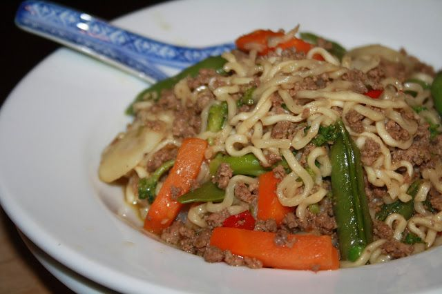 SourdoughNative: Midwest Chow Mein