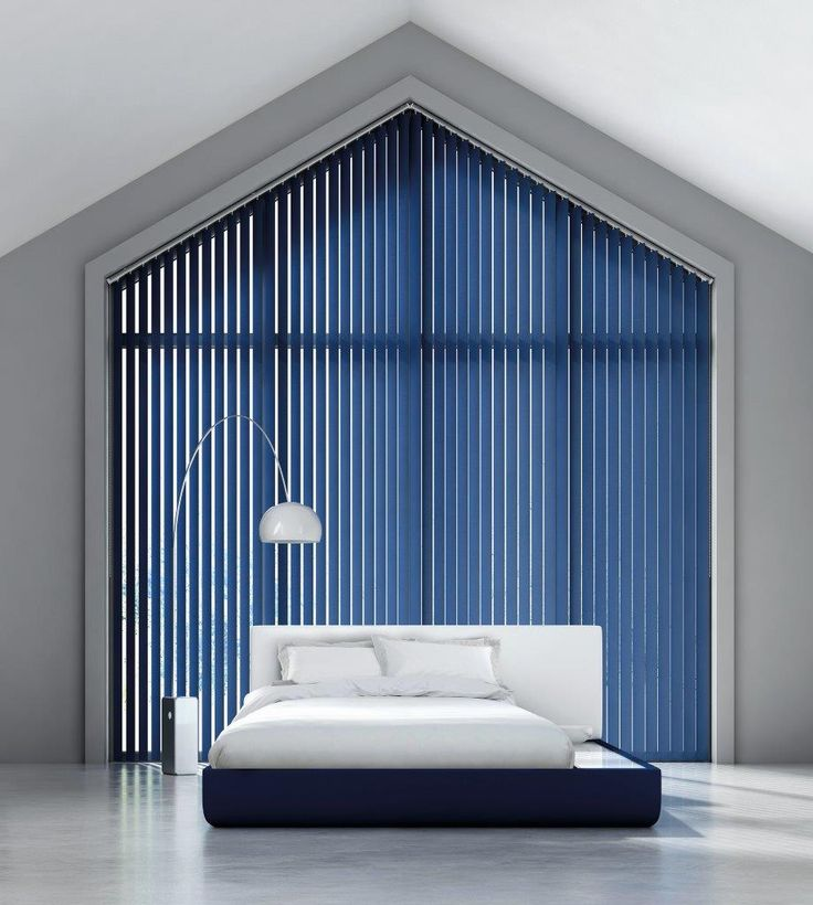 Made to measure vertical blinds at Gardiner Haskins
