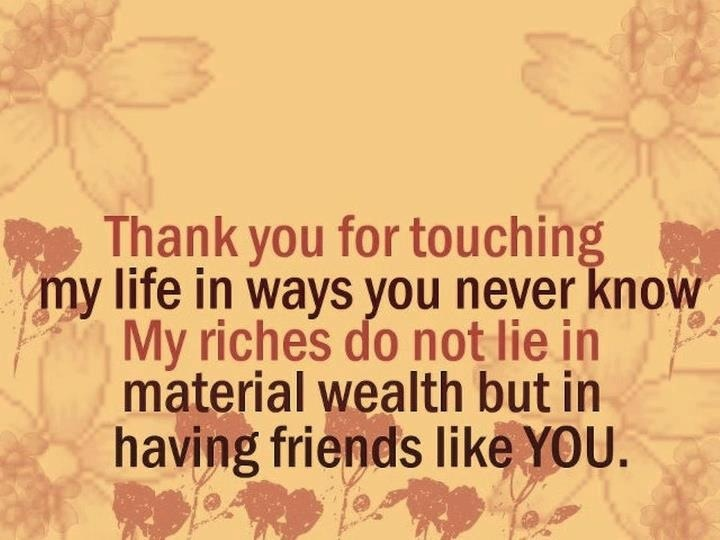 Thank You Fb Friends Quotes. QuotesGram