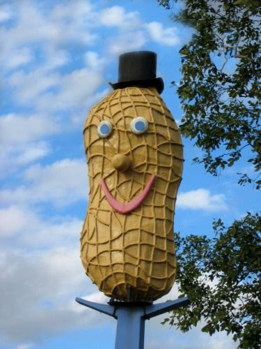 The Big Peanut....Cairns....not ticked as yet