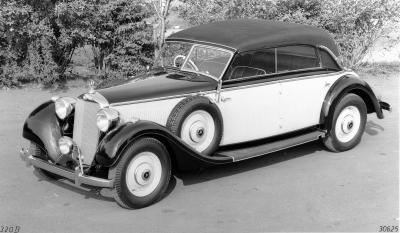 Cabriolet D. Picture courtesy Daimler-Benz