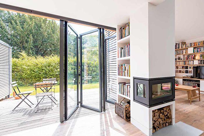 The 33 best Bifold Door Gallery images on Pinterest | Devon, Folding ...