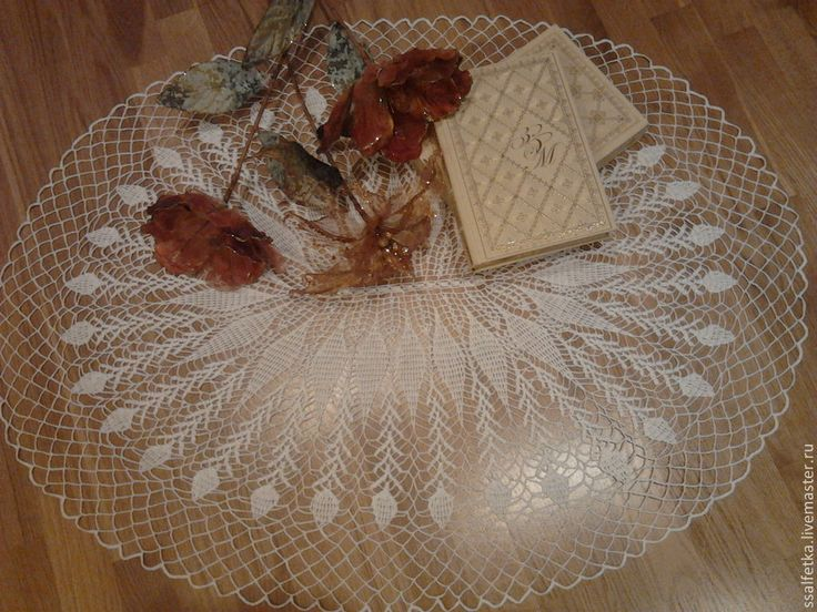 Купить Вязанная крючком скатерть - вязанная крючком скатерть, украшение интерьева, винтажный стиль