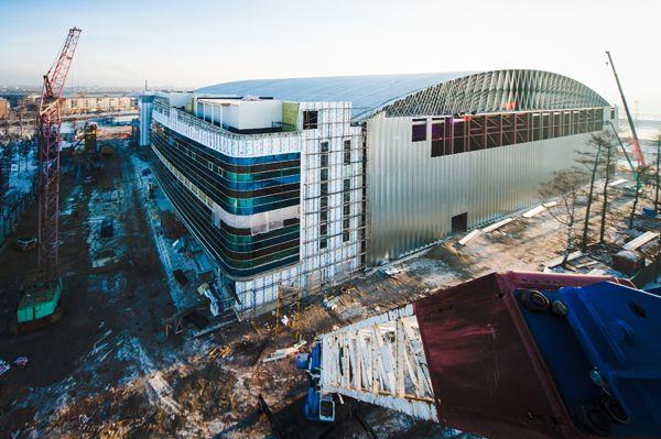 Second Place - Steel Building Systems. BEHLEN Industries LP - Krasnoyark, Russia