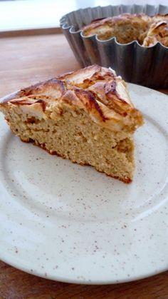 Gâteau aux pommes à la farine d'épautre