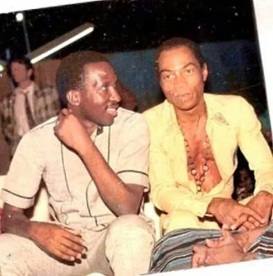 Two great legends Fela Kuti and Thomas Sankara