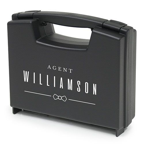 Personalized Ring Briefcase Special Agent Ring Bearer Ring