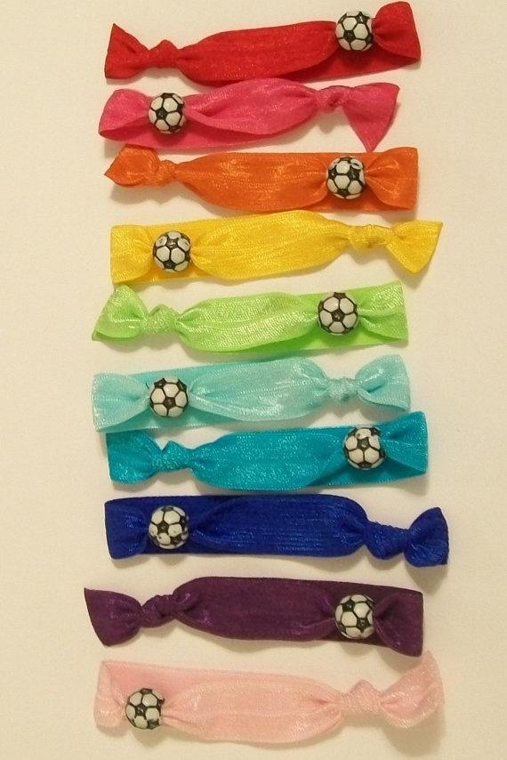 elastic ribbon hair ties