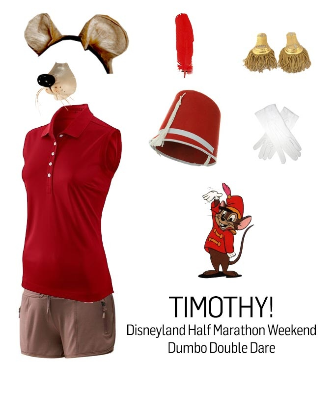 Brainstorm Board for my runDisney Dumbo Double Dare race costume // Timothy Q. Mouse from Dumbo