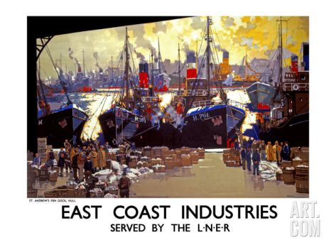 East Coast Industries Giclee Print by Frank Mason at Art.com